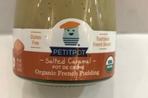 SALTED CARAMEL ORGANIC FRENCH PUDDING
