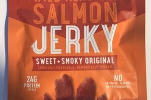 SWEET + SMOKY ORIGINAL WILD ALASKAN SALMON JERKY