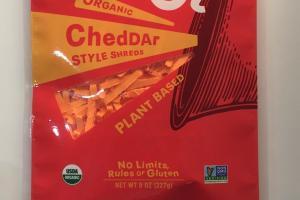 Organic Cheddar Style Shreds