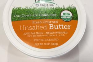 Fresh Churned Unsalted Butter