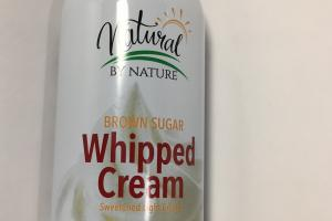 Brown Sugar Whipped Cream