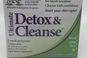 Ultimate Detox & Cleanse Vegan Dietary Supplements