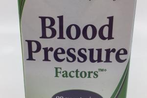 Blood Pressure Factors Dietary Supplement