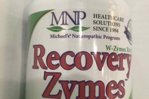 RECOVERY ZYMES PROTEOLYTIC ENZYME DIETARY SUPPLEMENT