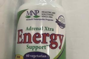 ADRENAL XTRA ENERGY SUPPORT DIETARY SUPPLEMENT VEGETARIAN TABLETS