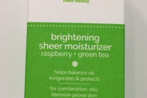 Brightening Sheer Moisturizer