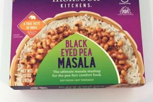 Basmati Rice Bowl Black Eyed Pea Masala