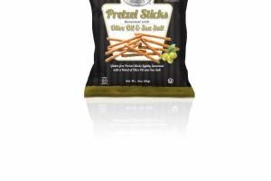 SEASONED WITH OLIVE OIL & SEA SALT PRETZEL STICKS