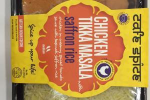 Chicken Tikka Masala With Saffron Rice