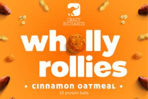 CINNAMON OATMEAL WHOLLY ROLLIES PROTEIN BALLS