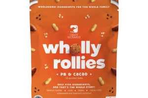 PB & CACAO WHOLLY ROLLIES PROTEIN BALLS