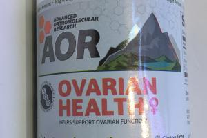 Ovarian Health Clinically Studied, Efficacious Dose Dietary Supplement Vegan Softgels