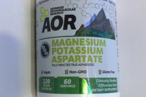 Magnesium Potassium Aspartate Dietary Supplement