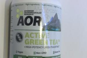 Active Green Tea Dietary Supplement