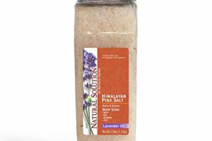 HIMALAYAN PINK SALT LAVENDER OIL BODY SOAK