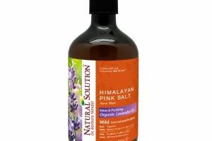 HIMALAYAN PINK SALT HAND WASH, RELAXING & PURIFYING ORGANIC LAVENDER OIL