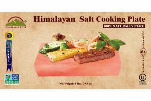 100% NATURAL PURE HIMALAYAN SALT COOKING PLATE