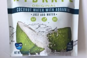 Hydrate Coconut Water With Aquamin