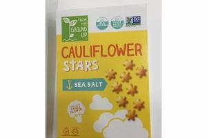 SEA SALT CAULIFLOWER STARS BAKED SNACK CRACKERS