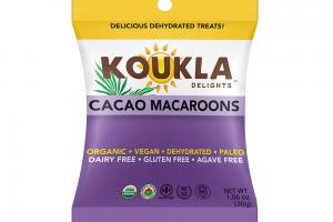 Cacao Macaroons