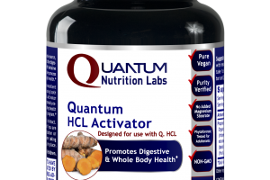 Designed For Use With Q. Hcl Promotes Digestive & Whole Body Health A Dietary Supplement