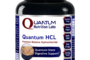Quantum Hcl Vegetarian Capsules Dietary Supplement