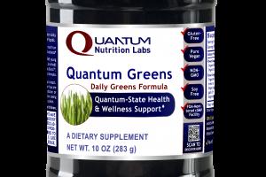 Quantum Greens Formula Dietary Formula