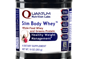 Slim Body Whole-food Whey And Greens Protein Healthy Weight Management A Dietary Supplement