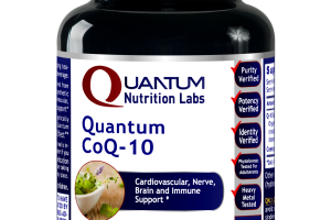 Quantum Coq-10 Vegetarian Capsules A Dietary Supplement