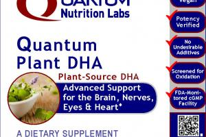 Quantum Plant Dha A Dietary Supplement
