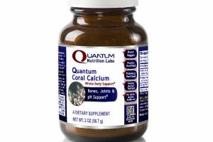 QUANTUM CORAL CALCIUM WHOLE BODY SUPPORT, BONES, JOINTS & PH SUPPORT A DIETARY SUPPLEMENT