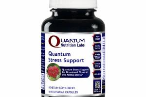 QUANTUM STRESS SUPPORT A DIETARY SUPPLEMENT VEGETARIAN CAPSULES