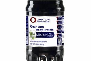 QUANTUM WHEY PROTEIN A DIETARY SUPPLEMENT