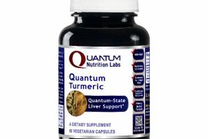 TURMERIC QUANTUM-STATE LIVER SUPPORT A DIETARY SUPPLEMENT VEGETARIAN CAPSULES