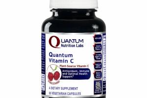 ACEROLA CHERRY QUANTUM VITAMIN C A DIETARY SUPPLEMENT VEGETARIAN CAPSULES