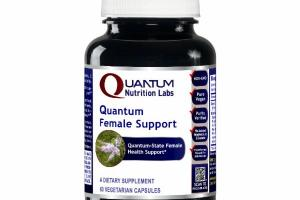 QUANTUM FEMALE SUPPORT A DIETARY SUPPLEMENT VEGETARIAN CAPSULES