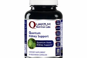QUANTUM KIDNEY SUPPORT A DIETARY SUPPLEMENT VEGETARIAN CAPSULES