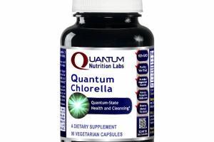 QUANTUM CHLORELLA QUANTUM-STATE HEALTH AND CLEANSING A DIETARY SUPPLEMENT VEGETARIAN CAPSULES