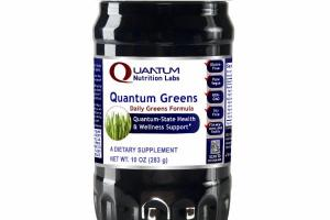 QUANTUM DAILY GREENS FORMULA A DIETARY SUPPLEMENT