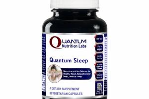 QUANTUM SLEEP NEUROTRANSMITTER BALANCE FOR HEALTHY MOOD, RELAXATION AND DEEP, RESTFUL SLEEP DIETARY SUPPLEMENT VEGETARIAN CAPSULES