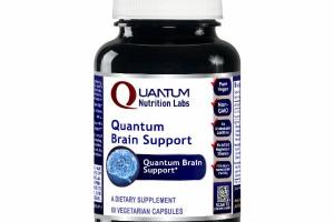 QUANTUM BRAIN SUPPORT DIETARY SUPPLEMENT VEGETARIAN CAPSULES