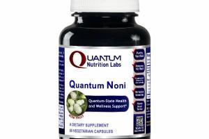 NONI FRUIT QUANTUM NONI A DIETARY SUPPLEMENT VEGETARIAN CAPSULES