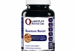 QUANTUM-STATE REISHI IMMUNE SUPPORT DIETARY SUPPLEMENT VEGETARIAN CAPSULES