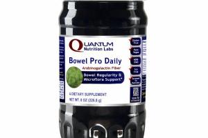 BOWEL PRO DAILY ARABINOGALACTIN FIBER REGULARITY & MICROFLORA SUPPORT DIETARY SUPPLEMENT