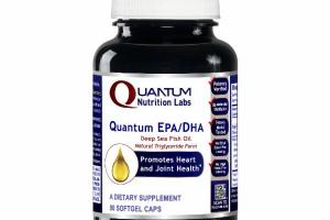 QUANTUM EPA/DHA PROMOTES HEART AND JOINT HEALTH DIETARY SUPPLEMENT SOFTGEL CAPS