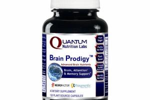 ADVANCED BRAIN PRODIGY NUTRIENTS ATTENTION & MEMORY SUPPORT DIETARY SUPPLEMENT PLANT-SOURCE CAPSULES