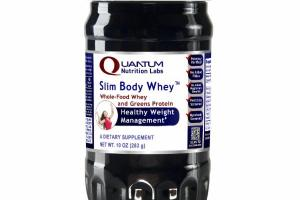 SLIM BODY WHOLE-FOOD WHEY AND GREENS PROTEIN HEALTHY WEIGHT MANAGEMENT DIETARY SUPPLEMENT