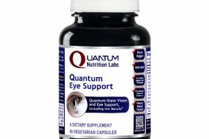 QUANTUM-STATE VISION AND EYE SUPPORT, INCLUDING THE MACULA DIETARY SUPPLEMENT VEGETARIAN CAPSULES
