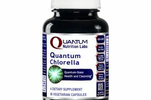 QUANTUM-STATE CHLORELLA HEALTH AND CLEANSING DIETARY SUPPLEMENT VEGETARIAN CAPSULES
