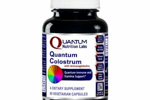 QUANTUM COLOSTRUM WITH IMMUNOGLOBULINS IMMUNE AND STAMINA SUPPORT DIETARY SUPPLEMENT VEGETARIAN CAPSULES